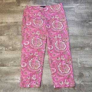 Talbots Petites cropped pants size 4P.